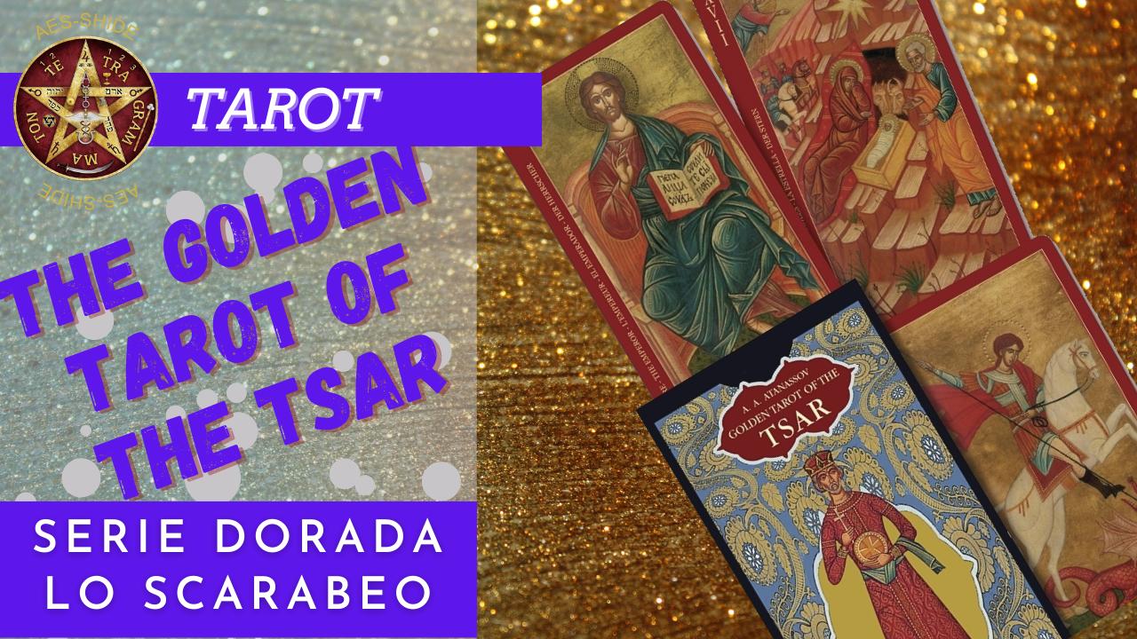 Golden Tarot of the Tsar o tarot dorado del zar
