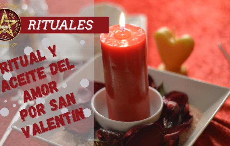 Ritual y aceite del amor por San Valentín